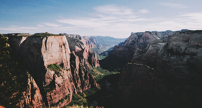 Zion National Park a walker's paradise