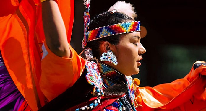 Education grad and powwow dancer follows in her father's footsteps