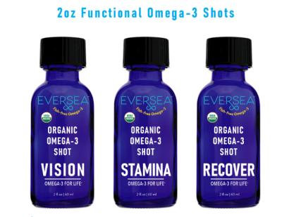 Solarvest Completes Development of the World's First Organic Omega-3 Shots